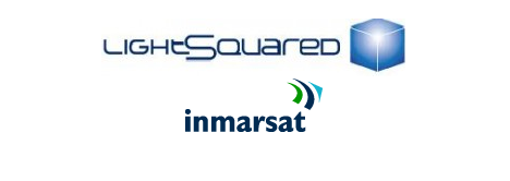 Lightsquared and Inmarsat logos