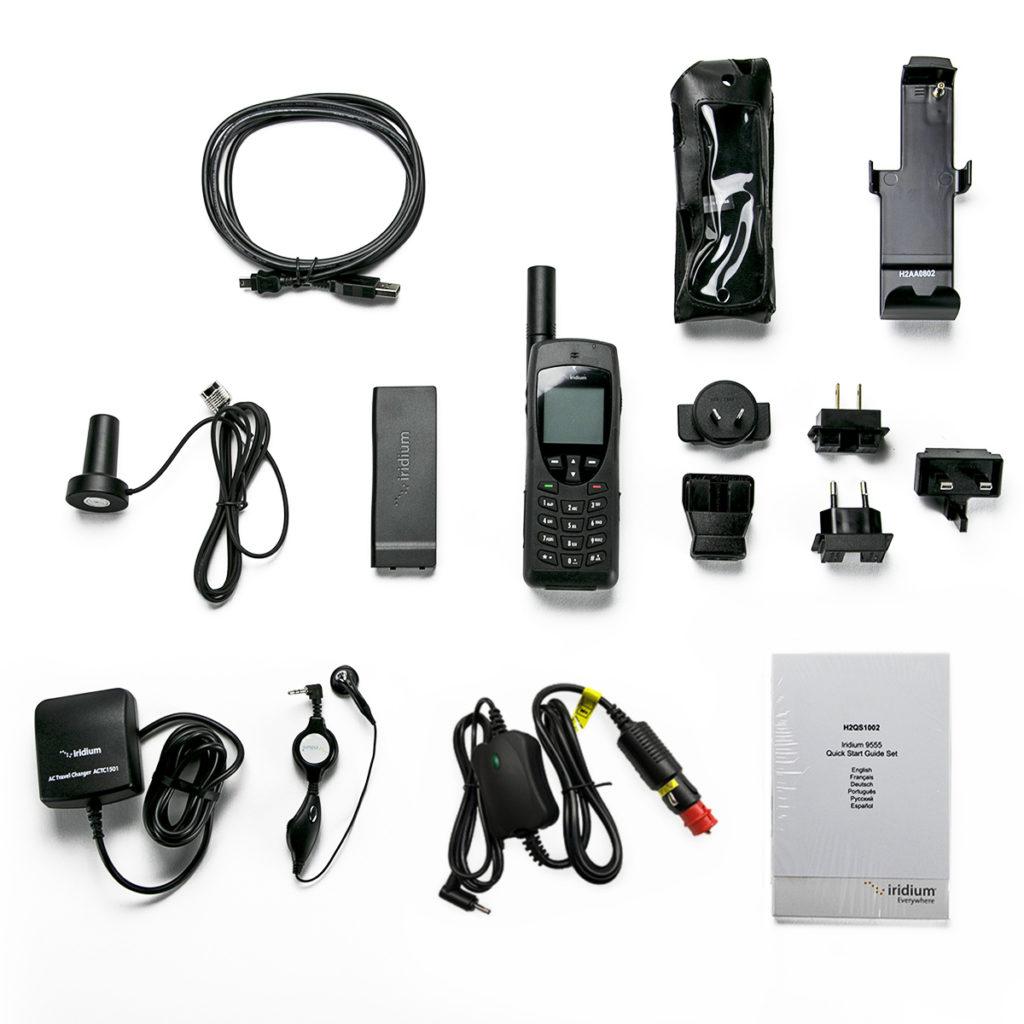 Iridium 9555 satellite phone accessories