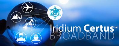 Iridium broadcast