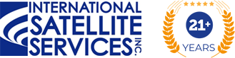 International Satellite Services Inc. logo